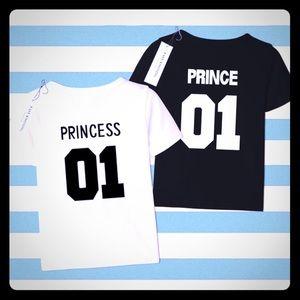 Prince & Princess T Shirts